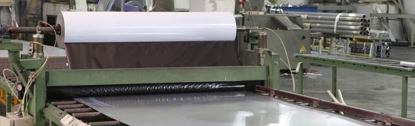 Bearbeitungen und Lackierung mit Aluminiumpulver
